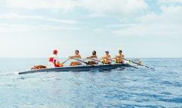 Coastal rowing at Société Nautique de Monaco